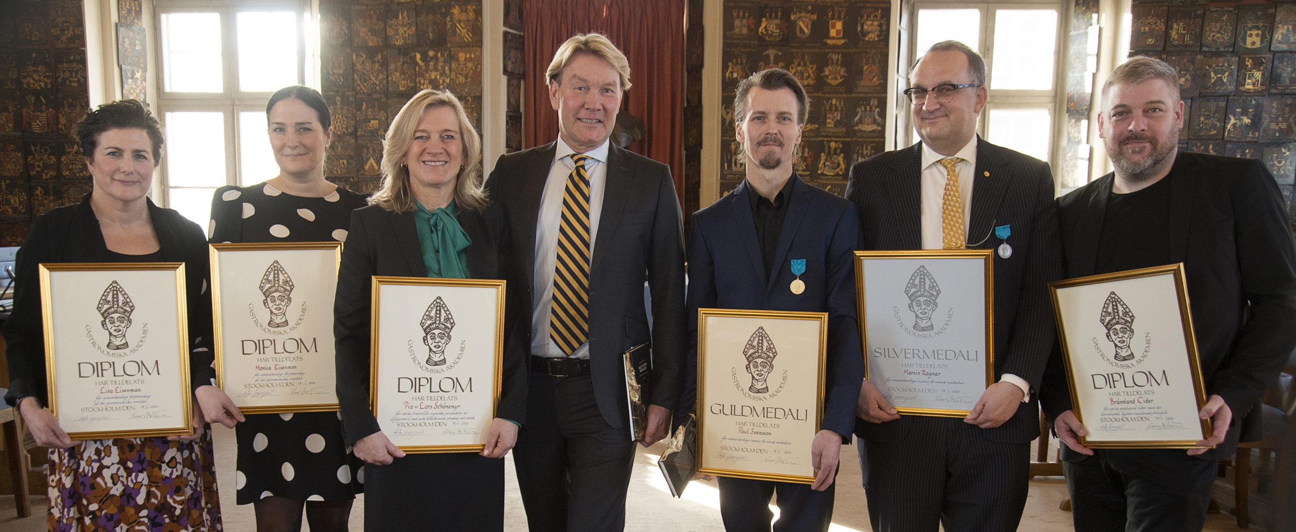 Gastronomiska Akademiens Diplom